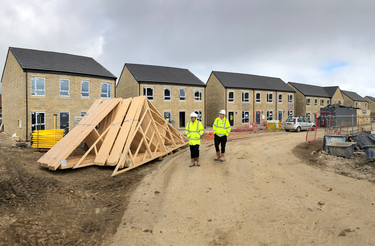 Works Are Progressing Well At Chellow Heights Phase 3 In