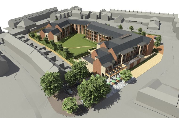 Work commences for an Extra Care Village in Chorley