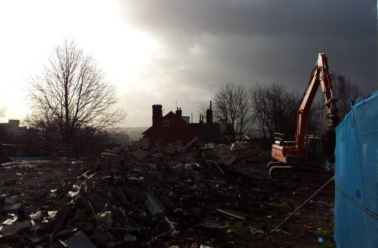 Demolition Well Underway for New Affordable Housing Scheme in Leeds
