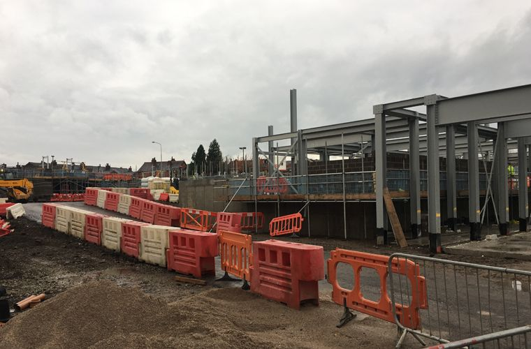Works progressing well at Extra Care Village in Chorley