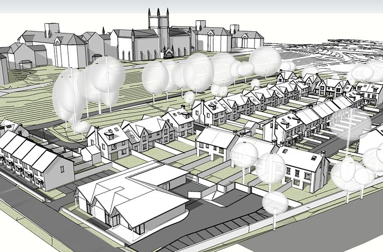 Planning Application Submitted for Mixed Use Development Within Former Grounds of Lancaster Moor Hospital