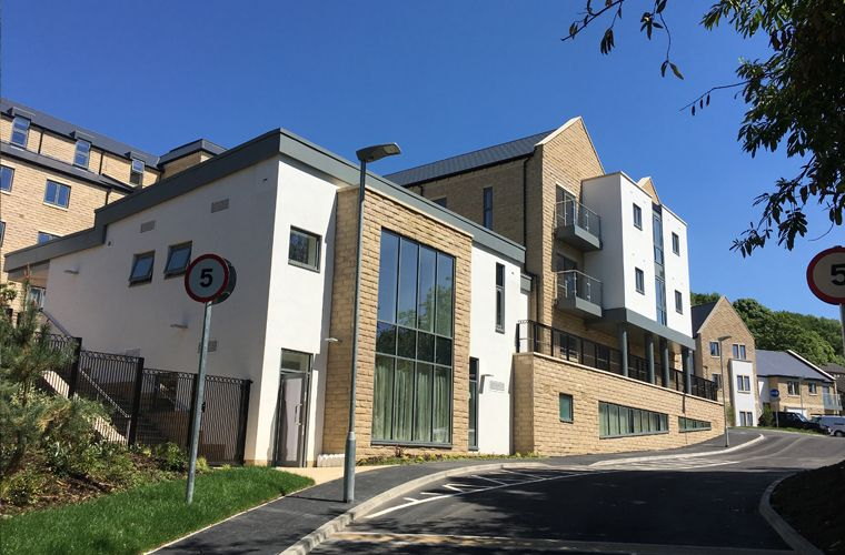 Works complete on a new Extra Care and Dementia Housing Scheme