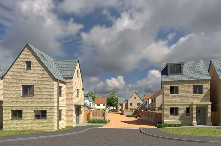 Planning submitted for a residential development in Whitby