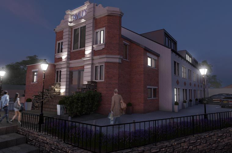 New Homes 'Projected' at Historic Cinema Building