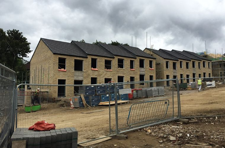 Works progressing well at Chellow Heights, Bradford