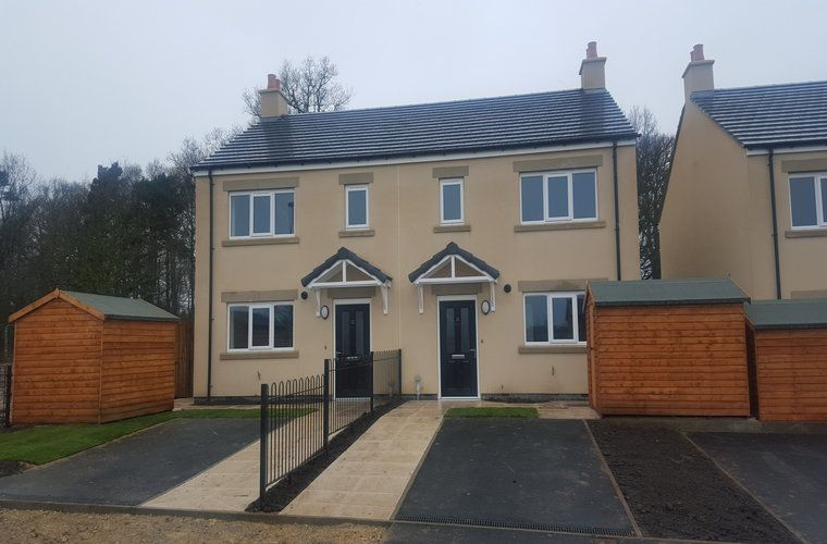 Work is Now Complete on a Brand New Affordable Homes Scheme at Pannal Road, Follifoot