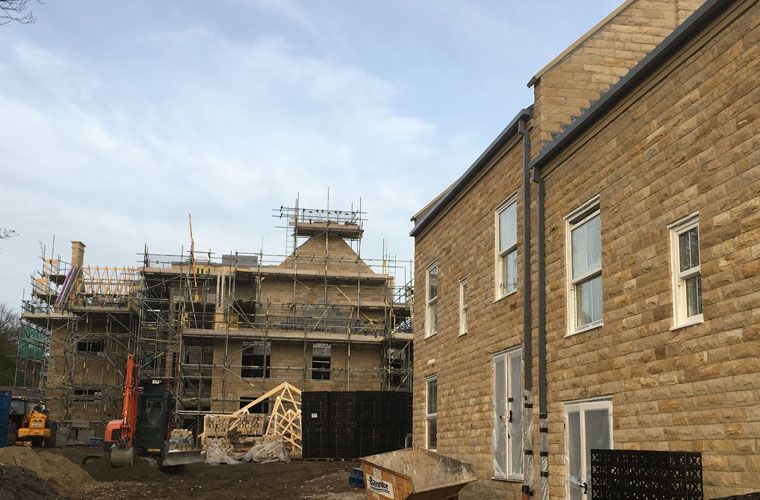 Works Progressing Well at Burley Lane, Horsforth