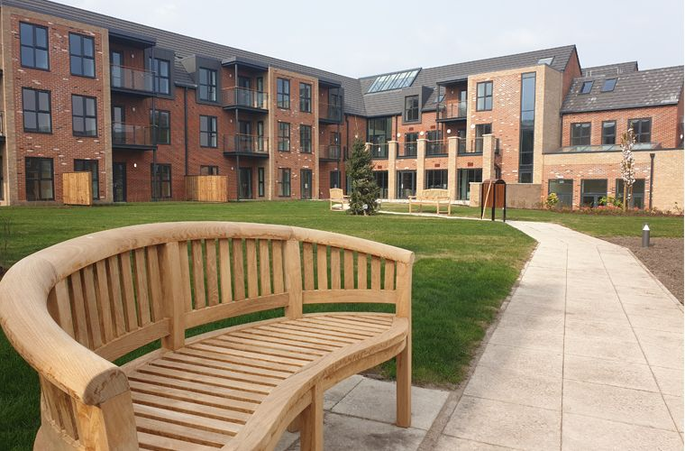 Works Complete on Innovative Retirement Village