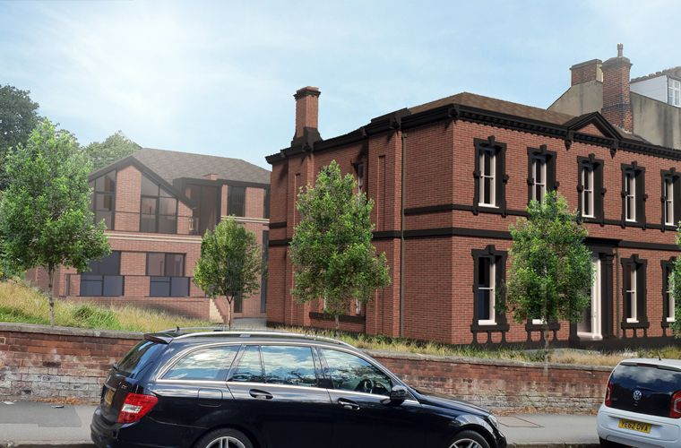 Planning submitted for conversion and extension of Grade II Listed Building