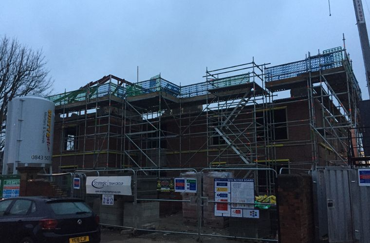 Works are progressing well on a new supported living scheme in Leeds