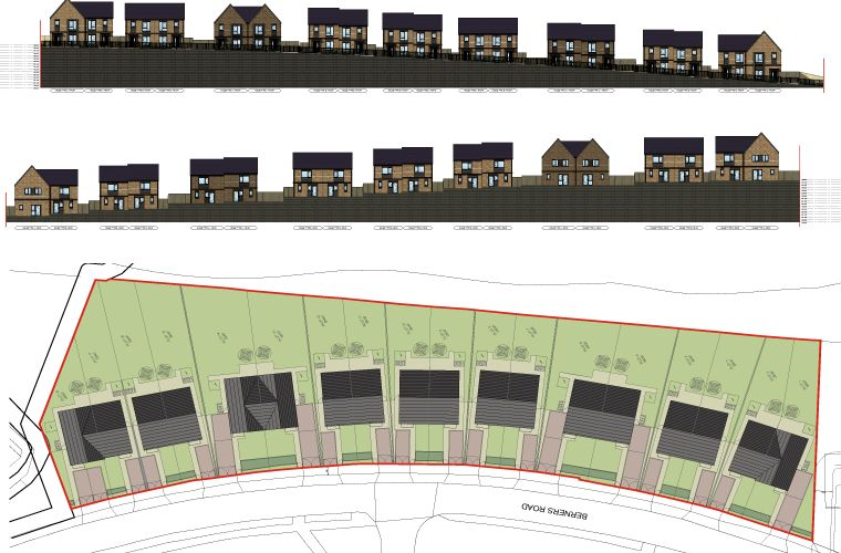 Planning Application submitted for new residential development in Sheffield