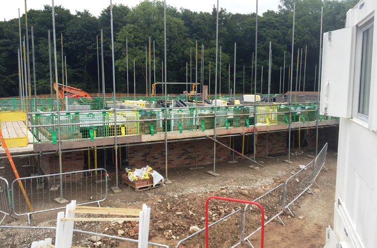 Works progressing well at East Acres, Byram, Selby