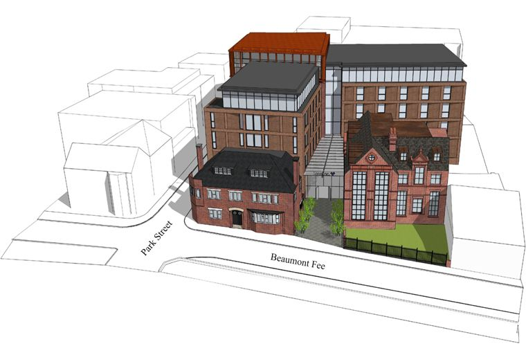 Planning submitted for 138 luxury student apartments in Lincoln