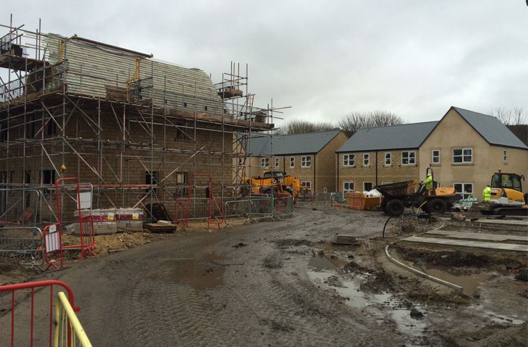 Works progressing well on site