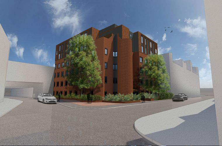 Planning submitted for 12 new apartments in Swindon