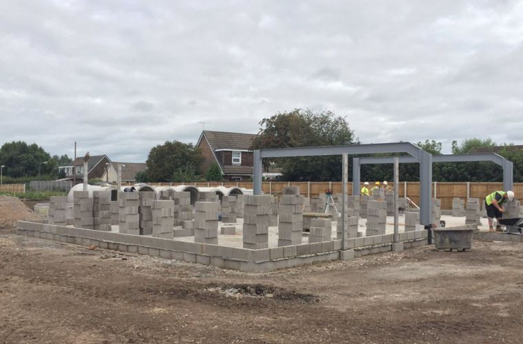 Works progressing well at Hesketh Bank