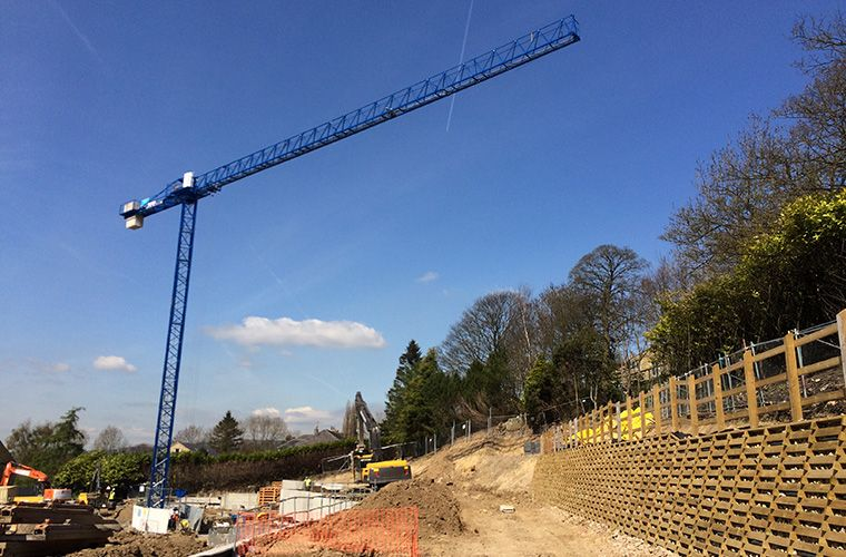 250t Crane Marks Significant Step in The Abbeyfield Societies Project