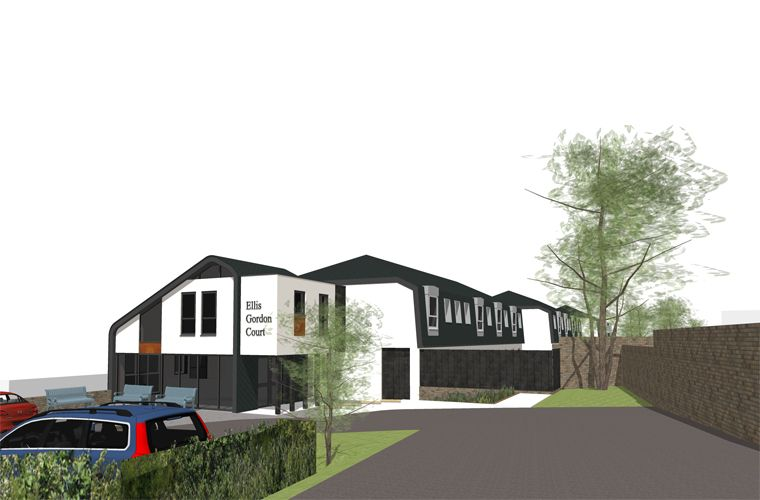 Planning Approval for Refurbishment and Extension of Existing Care Home in Newhaven