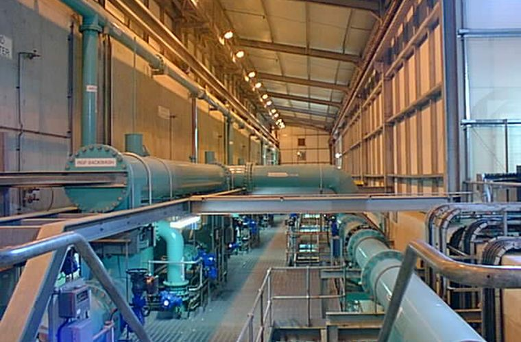 Eccup Water Treatment Works