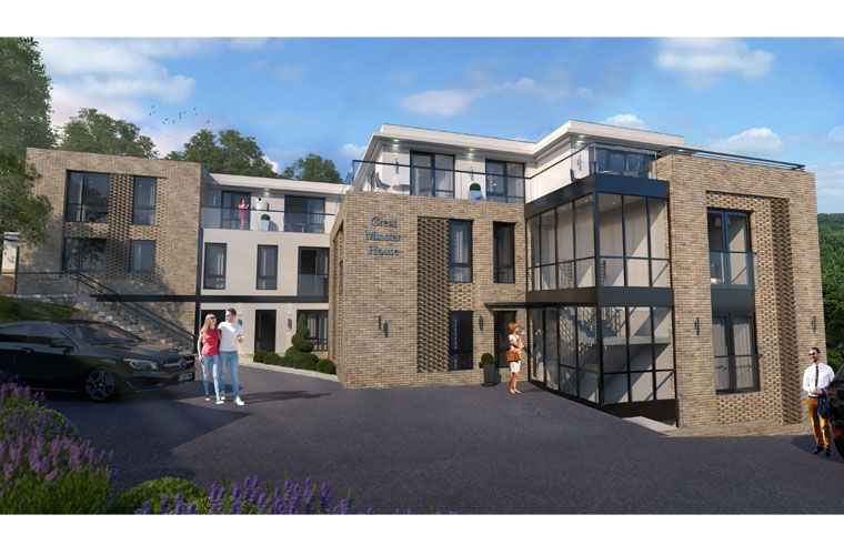 Work starts on new apartment development in Horsforth