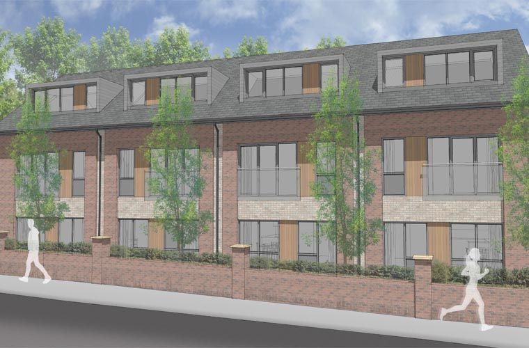 Planning submitted for a Former Salvation Army Site, Kirkstall Lane, Leeds
