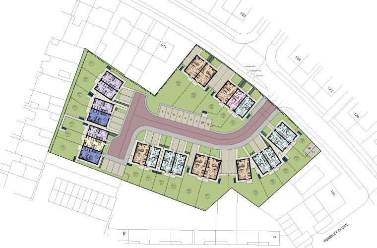 Planning Application submitted for new residential development at Westminster Crescent in Doncaster