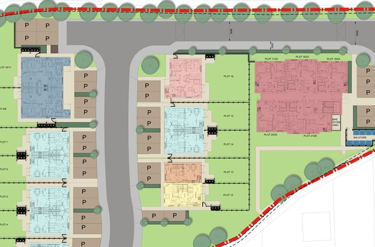 Planning permission granted for another affordable housing scheme