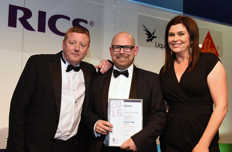 Brewster Bye Project Recognised In Prestigious Award