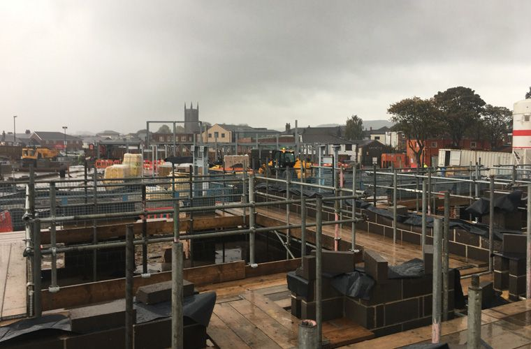 Works progressing well on an Extra Care Village in Chorley