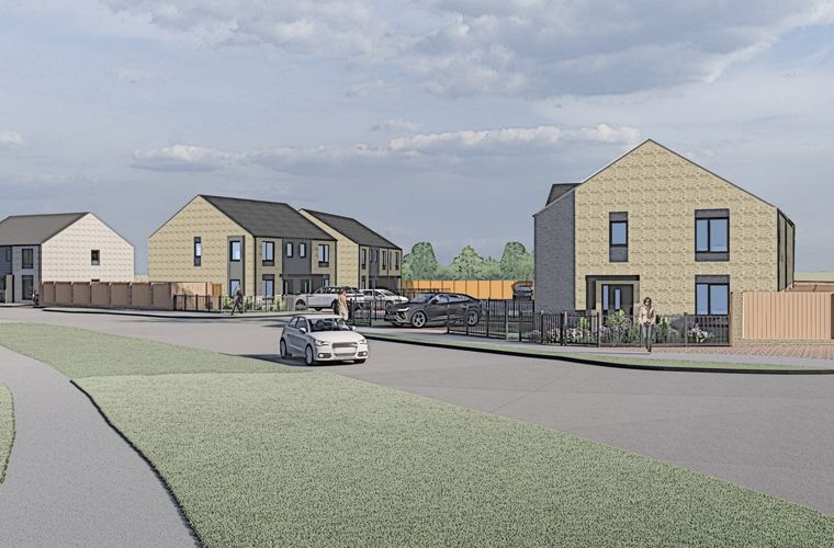 Planning submitted for new affordable homes