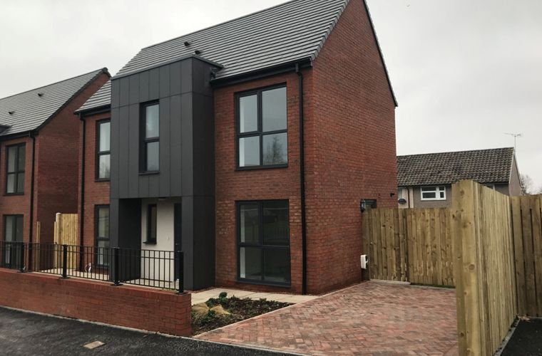 Works complete for new affordable homes in Leeds