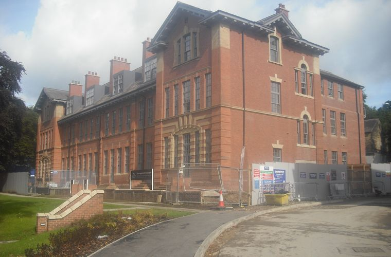 Works progressing well at the Former Leeds Girl's High School