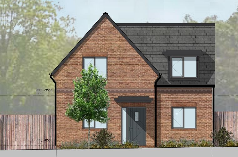 Planning permission has been granted for five new homes in Prickwillow, Ely