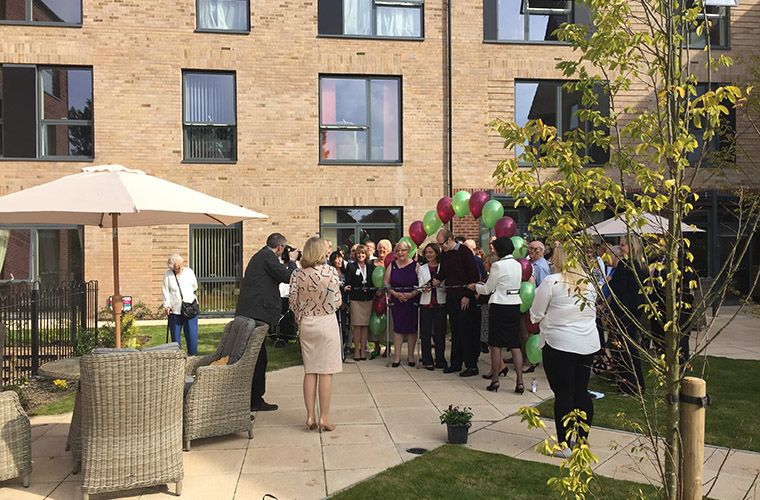 Official Opening of Rose Manor Extra Care and Oleander House