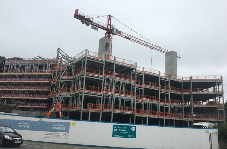 Works are progressing well on site for new Extra Care Development