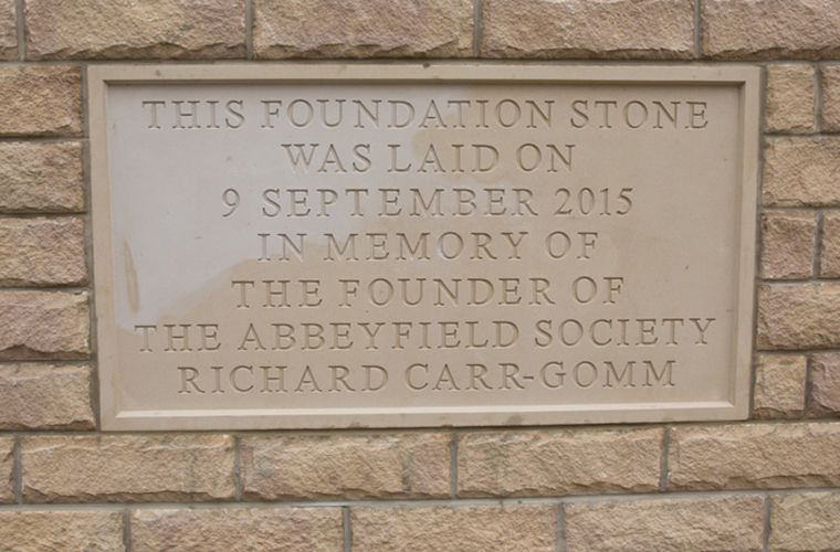 Brewster Bye Attend Foundation Stone Ceremony at The Abbeyfield Societies, Bingley