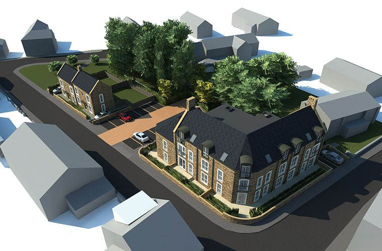 Planning Submitted for Development of Affordable Rental Housing for Older People