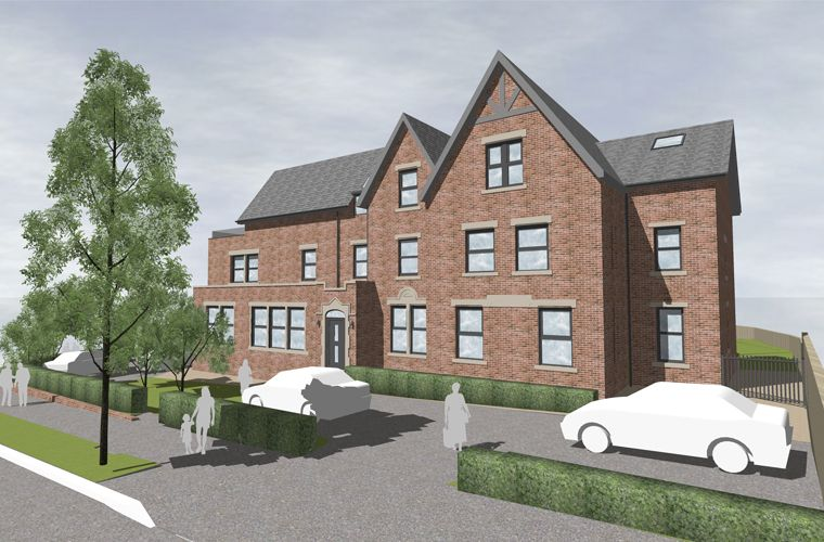 Planning submitted for nine luxury apartments at former care home