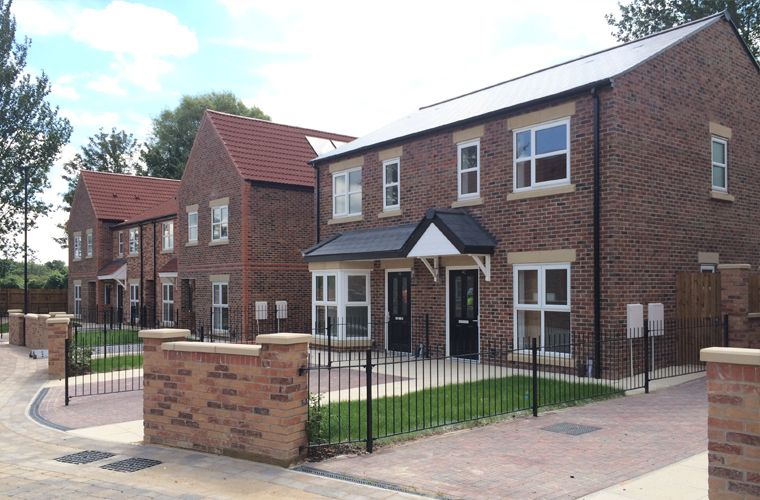 Work Completes at New Homes Development on Former York School Site