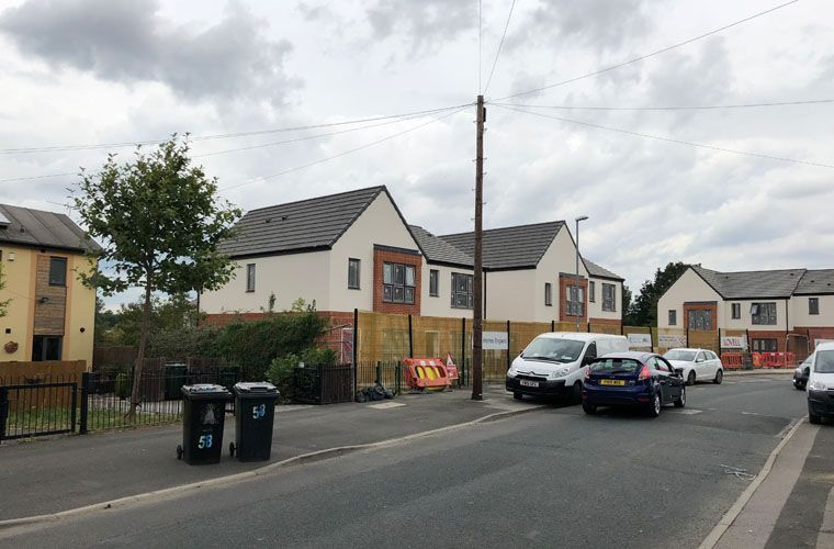 Works nearing completion for new affordable homes in Leeds