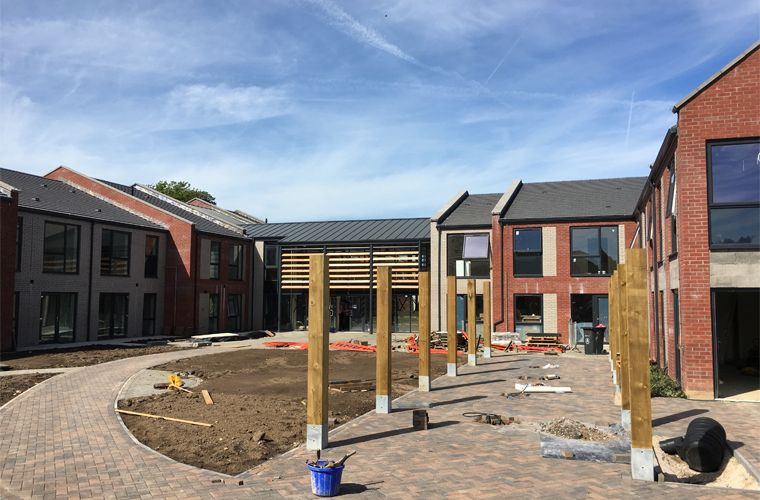 The Former Woolley Wood School is Nearing Completion