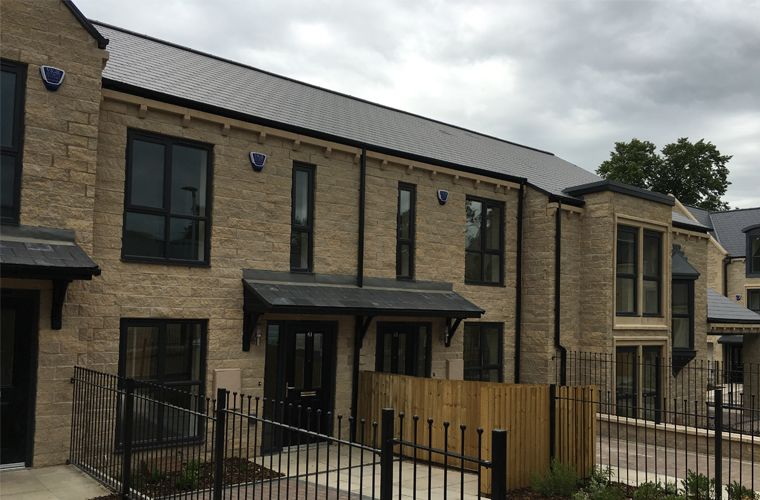 Work is now complete at Rosemount, Manningham, Bradford