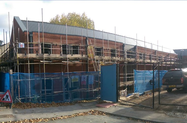 Works Progressing Well at Kendal Carr