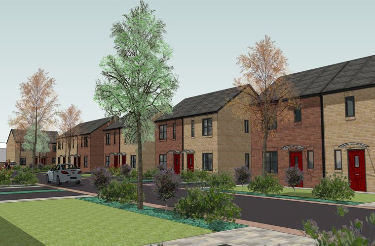 Planning application submitted for new affordable homes